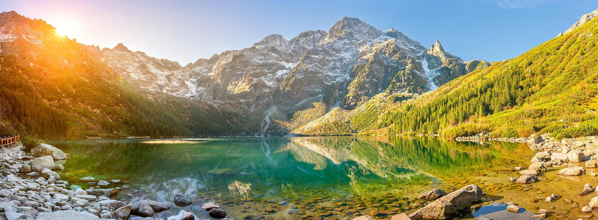 Le lac besson in l'Alpe d'Huez