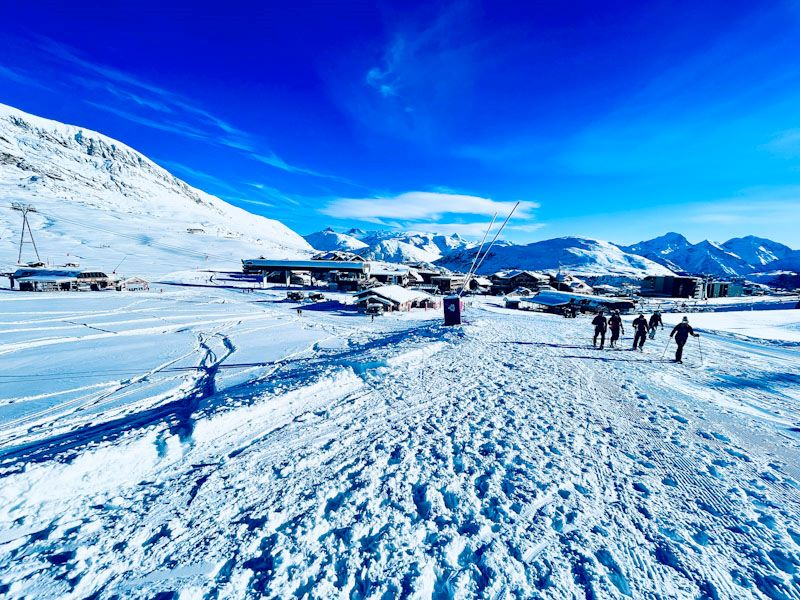 The sunniest station, l'Alpe d'Huez