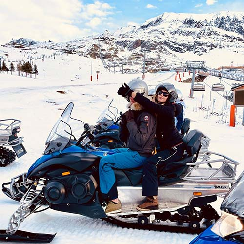 Motoslitta a l'Alpe D'Huez