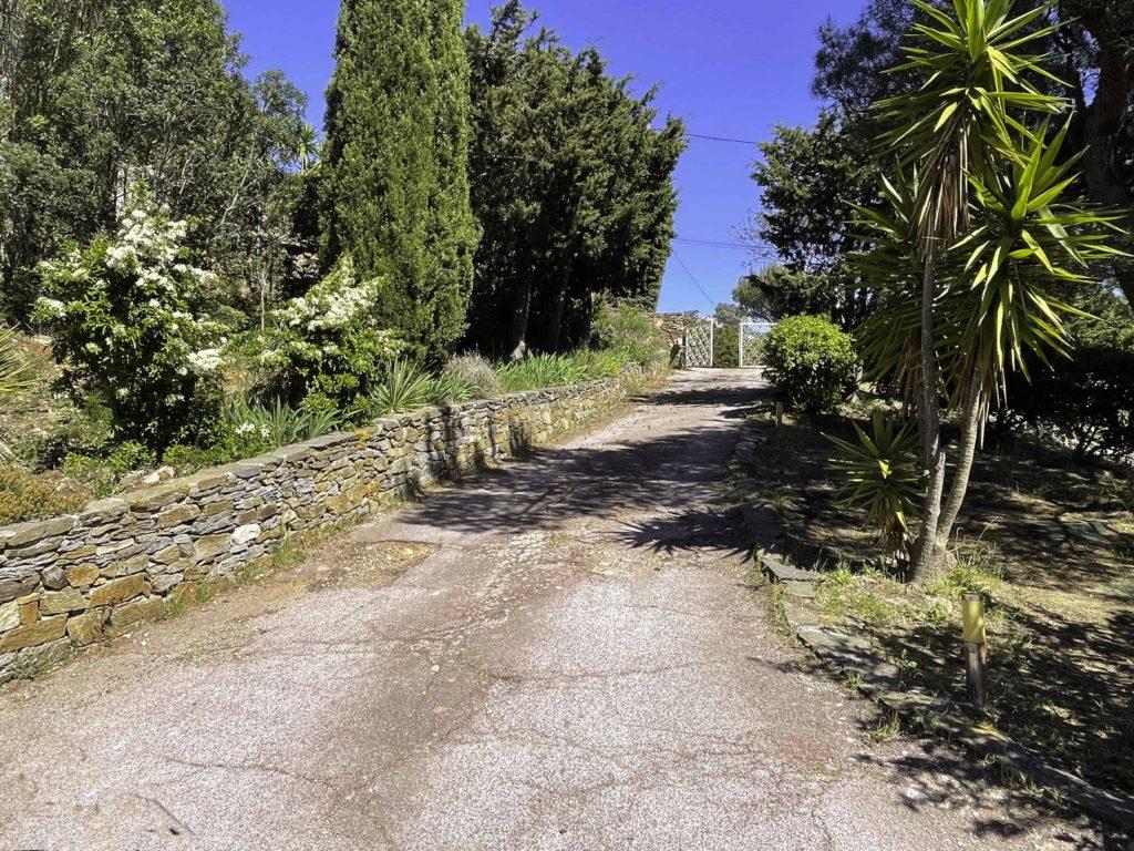 Entrée Vue mer la la villa vue mer 180° sur la Colline la à Carqueiranne